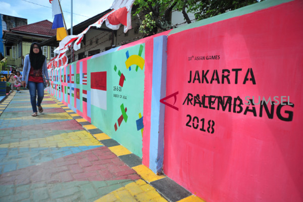 Inilah kampung Cempako Jawara lomba kampung Asian Games