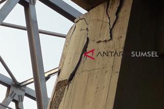Perbaikan Jembatan Ogan tunggu pilar dari Jerman