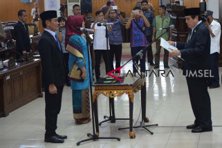 DPRD Sumsel gelar paripurna pelantikan dua anggota PAW