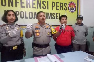 Polsek IB I Palembang tembak DPO
