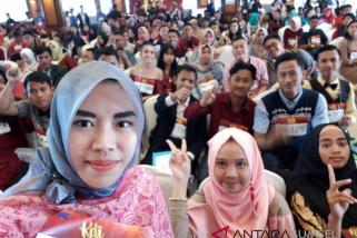 Ribuan peserta asal Sumsel antusias ikut Audisi KDI