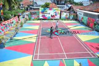 Pangdam Sriwijaya kunjungi kampung hias Asian Games