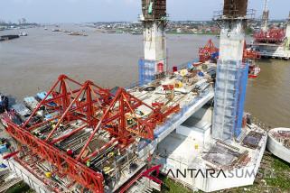 Jembatan Musi 4 difungsikan saat Asian Games