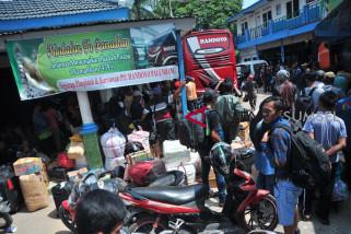 Bus AKAP di Baturaja sepi penumpang