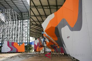 Renovasi Arena Sport Climbing Sudah Mencapai 70 Persen
