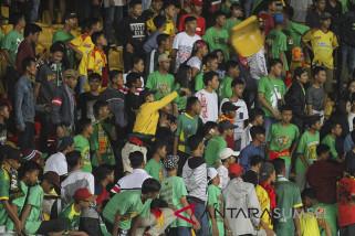 Akibat ulah sporter, Sriwijaya FC didenda Rp380 juta