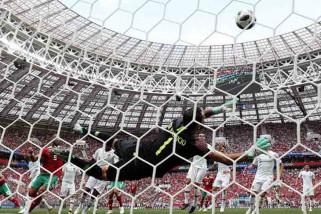 Gol Ronaldo bawa Portugal menang 1-0 atas Maroko