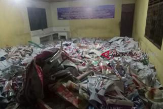 Pemkot Palembang tertibkan alat peraga kampanye Caleg