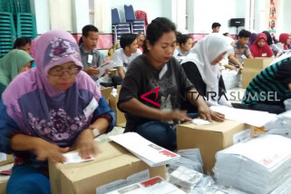 Ratusan ribu surat suara Pilkada Palembang sudah dicetak