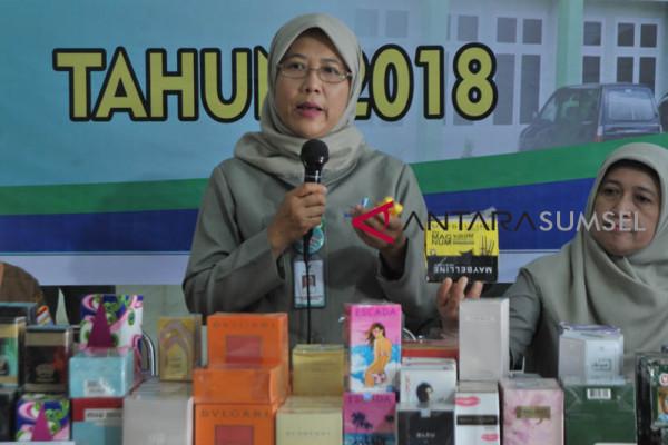 Temuan Kosmetika tanpa ijin Edar BPOM Palembang