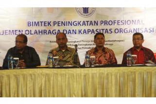 Tenaga keolahragaan Indonesia diharapkan pahami organisasi moderen