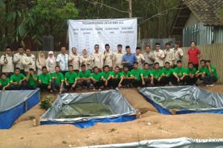PT Pusri lakukan pembinaan dan pelatihan kerajinan bambu