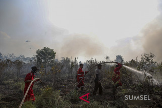 Polres cegah kebakaran hutan dan lahan melalui sosialisasi pembuatan kompos