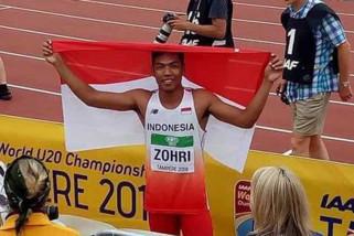 Lalu Muhammad Zohri juara dunia lari 100 meter