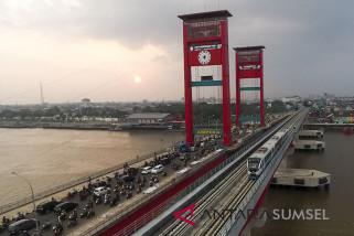 Operasional LRT Palembang