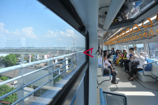 LRT Sumsel sudah angkut 24 ribu penumpang