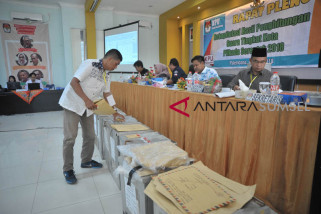 Rekapitulasi Suara KPU Palembang