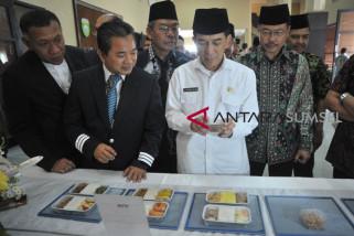 Tes makanan Penerbangan Haji embarkasi Palembang