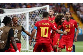 Belgia unguli Brazil 2-0 pada babak pertama