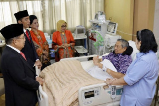 Presiden dan Wapres besuk SBY