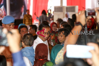 Presiden tinggalkan Palembang menuju Jateng