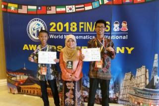 Siswa SMAN Sumsel rebut perak pada kompetisi matematika dunia