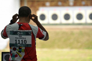 Asian Games  - Indonesia masuk final 25 m rapid fire pistol