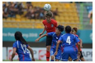 Asian Games (Sepak Bola) - Korea selatan kalahkan Chinese Taipei 2-1