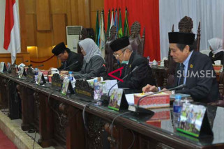 DPRD gelar paripurna penetapan Plt Ketua DPRD Sumsel