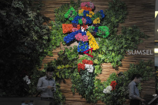 Dekorasi hotel bernuansa Asian Games