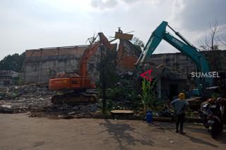 Eks bioskop Cineplex dibongkar untuk lahan parkir