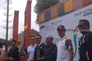 Obor Asian Games lewati Kampung Berseri Astra Palembang