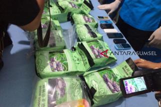 BNNP Sumsel tangkap pengedar 17 kg sabu