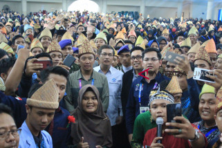 Menpora motivasi mahasiswa baru UIN Raden Fatah
