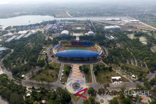 Asian Games - Pembukaan Asian Games di Palembang berkonsep kasual