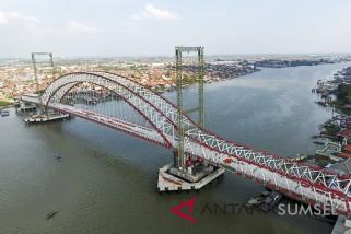 Pekerjaan jembatan Musi VI terkendala pembebasan lahan