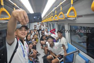 Atlet Asian Games mulai berdatangan di Palembang