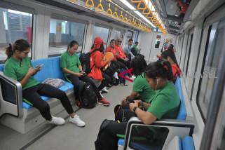 Asian Games - LRT Palembang tertutup untuk umum 16-18 Agustus
