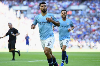 Manchester City pecundangi Arsenal di Emirates