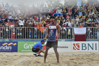 Asian Games - M Ashfiya: Voli pantai jadi pilihan
