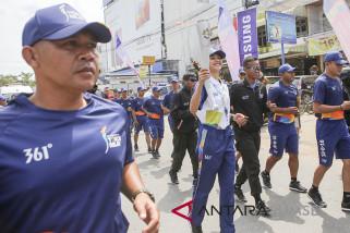 Mikha Tambayong bawa obor Asian Games di Palembang