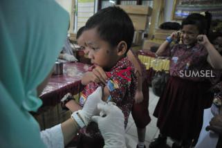 Vaksinasi MR di Sumsel capai 78,11 persen