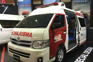 Satgaskes TNI-Polri siagakan 105 ambulans