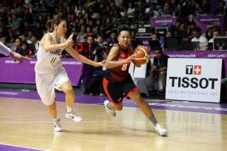 Asian games (Bola Basket)- Natasha Debby bertekad hadiahkan kemenangan kontra kazakhstan