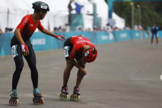 Asian Games (sepatu roda) - Oky akui salah posisi jelang finish