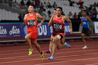 Asian Games - Zohri Cs melangkah ke final estafet 4x100 meter putra