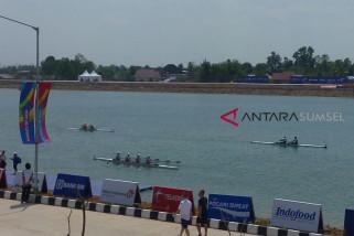Asian Games (dayung) - Indonesia unggul di kelas ringan empat putra