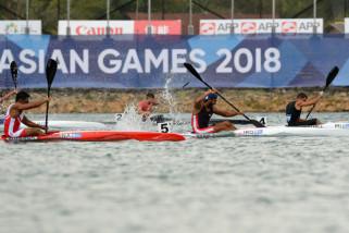 Asian Games (dayung) - Indonesia kembali loloskan dua tim ke final
