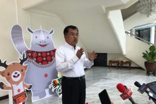 Jusuf Kalla tinjau penyelenggaraan Asian Games di Palembang
