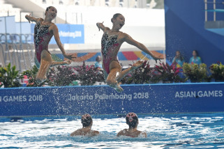 Asian Games - Tim renang indah China ingin jadi model bagi negara lain
